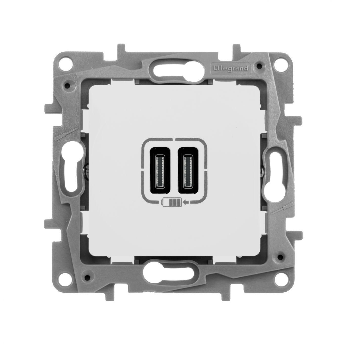 Зарядка USB C-C СЛК ETIKA