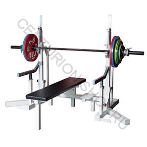 Скамья для пауэрлифтинга BULL Bench & Squat Racks