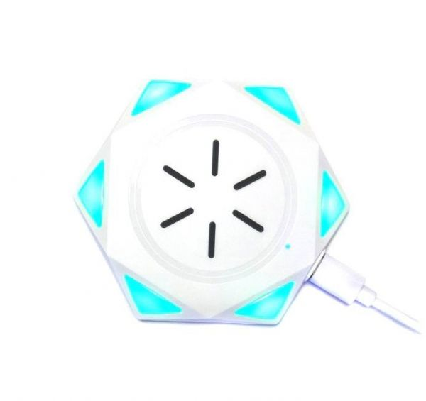 Беспроводное зарядное устройство Star Drill Wireless Charging BC-18, белый
