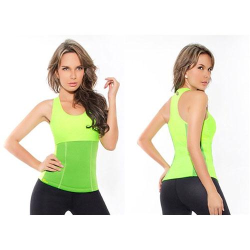 Майка для похудения Hot Shapers (Хот Шейперс), цвет зеленый, размер S