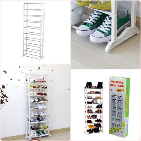 Стойка для обуви Amazing Shoe Rack, цвет белый