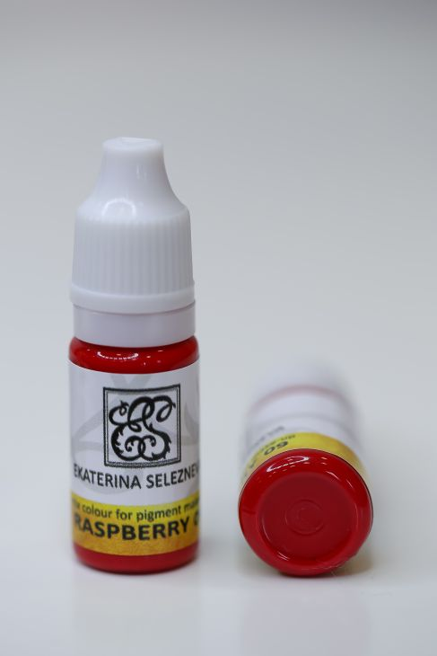 09 Пигменты для губ Ekaterina Selezneva 10ml Raspberry