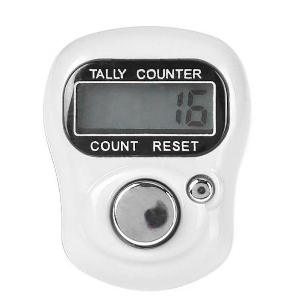 Электронный счетчик нажатий на кнопку Белый