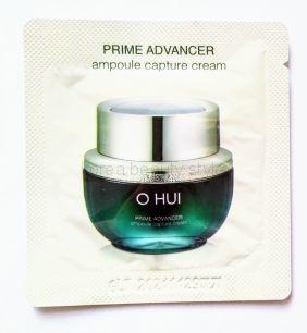 O HUI PRIME ADVANCER ampoule capture cream (sample 1 ml )-  комплексный крем для лица (пробник-саше - 1мл) от бренда O HUI.