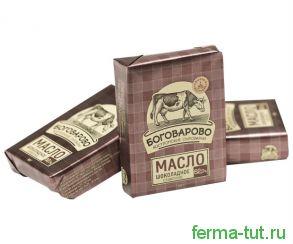 Масло шоколадное Боговарово 62%, 180 гр.