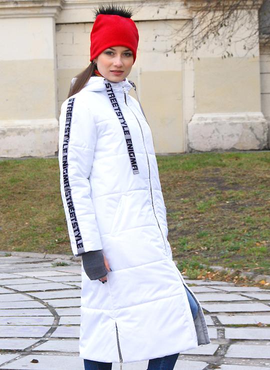 Белое пальто Enigma