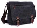 Винтажная сумка Postman (почтальон) черная
