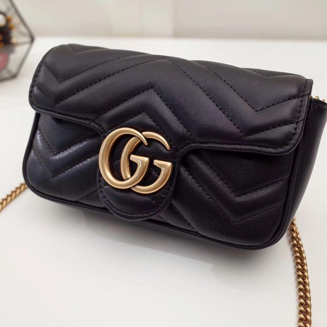 Сумка Gucci Marmont GG Super mini