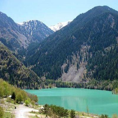 Тургеньский водопад и озеро Иссык