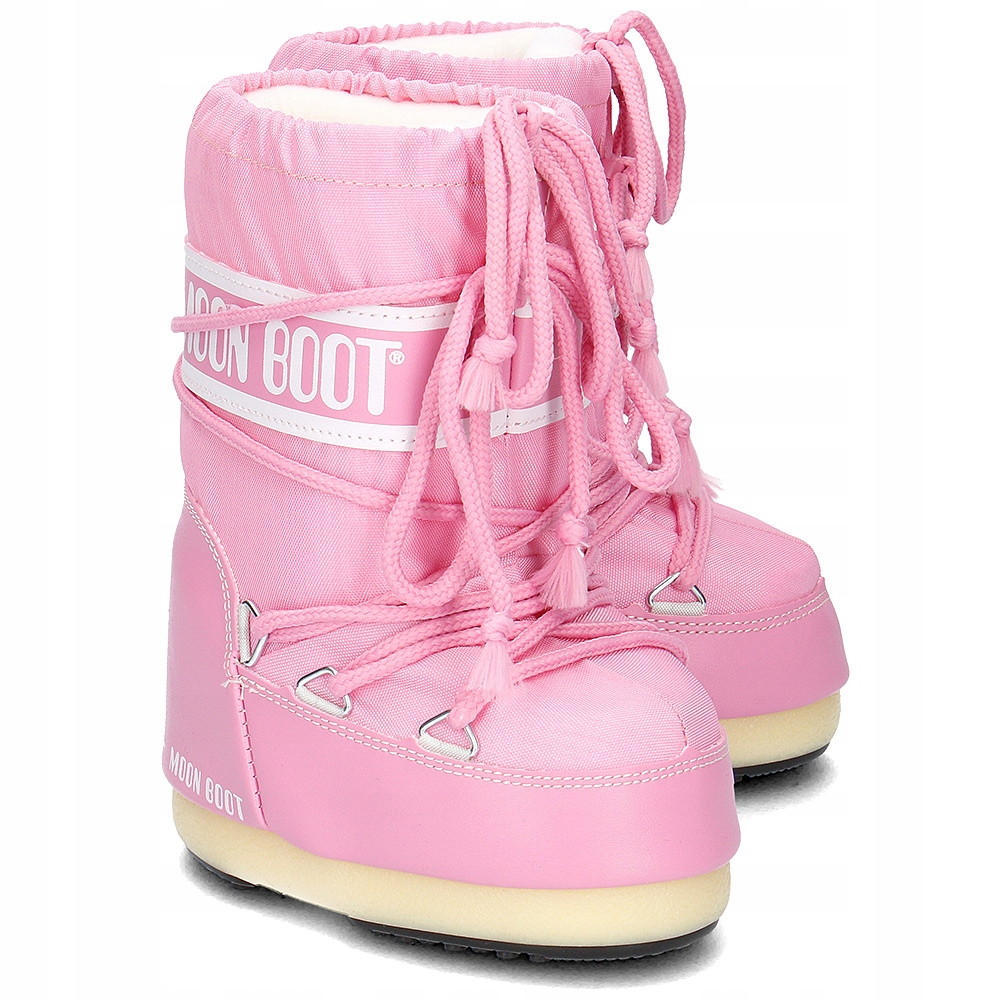 Moon Boot Nylon Pink / 23-26, 31-34.