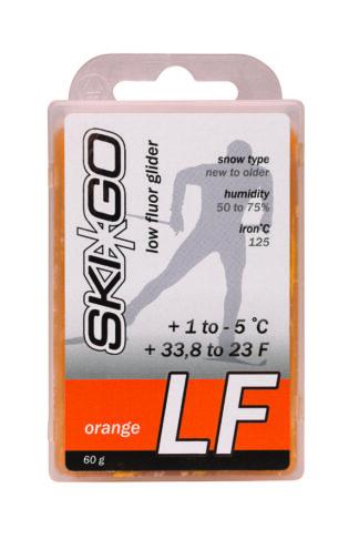 парафин skigo lf orange низкофтористый +1/-5 60 гр