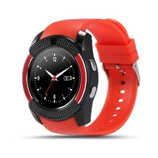 Умные часы Smart Watch V8, красные