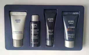 IOPE MEN  basic kit includes 4 items -  подарочный набор миниатюр базовый  антивозрастной  уход для мужчин от IOPE  из 4 средств