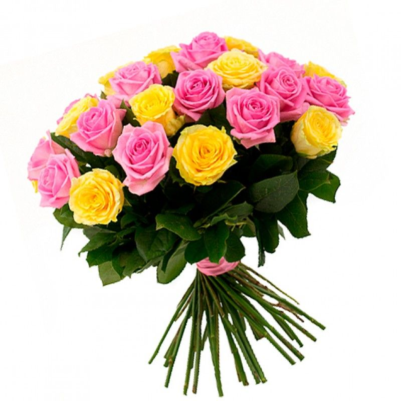 25 роз (45-50 см)