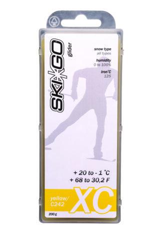 парафин skigo xc yellow +20/-1 200 gr
