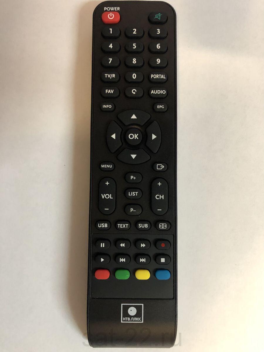 Пульт ДУ для спутникового ресивера NTV PLUS 1HD PVR