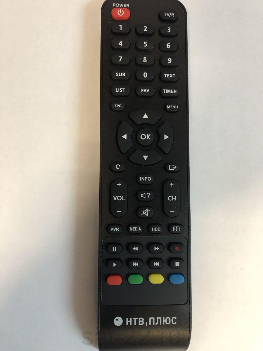 Пульт ДУ для спутникового ресивера NTV PLUS 710 HD