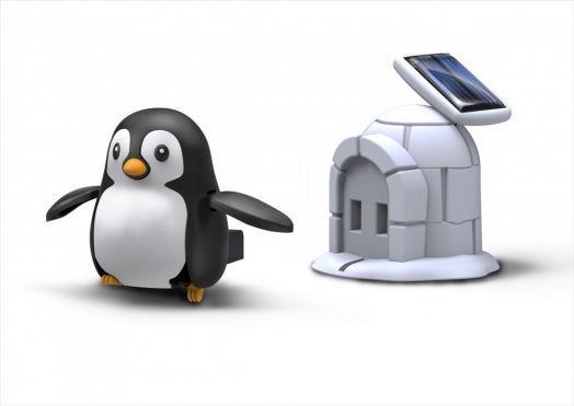 конструктор на солнечной батарее Пингвин