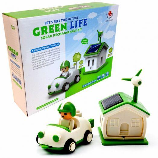 конструктор на солнечных батареях Green Life