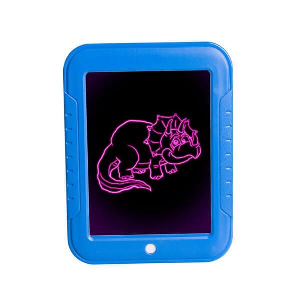 Волшебный планшет для рисования с подсветкой Magic Sketchpad (Цвет: Синий)