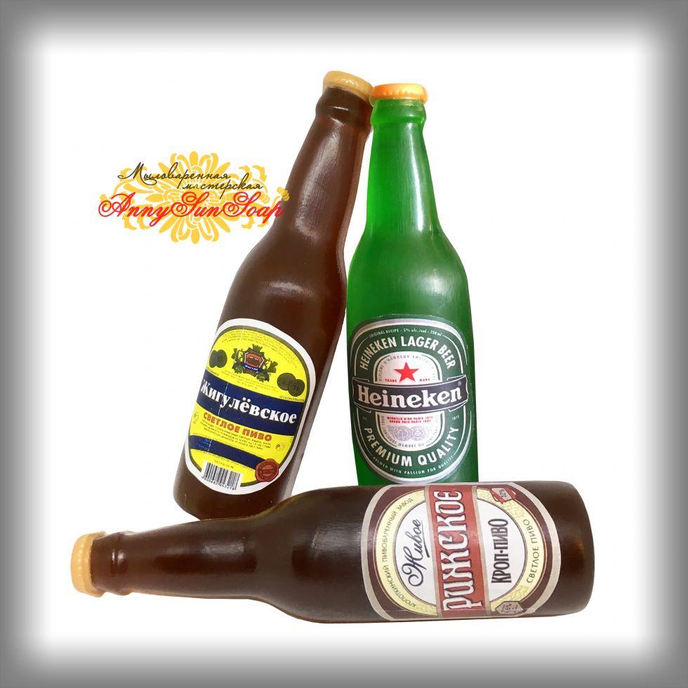 "Мыло ""Бутылка пива"""