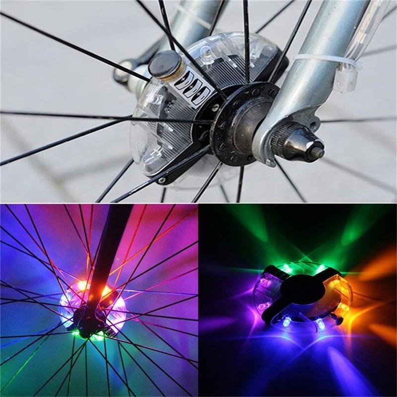 Велосипедный осевой концентратор света Ufo Bicycle Hug Light