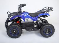 Atv Classic Mini E 800W Электроквадроцикл синий паук вид 2
