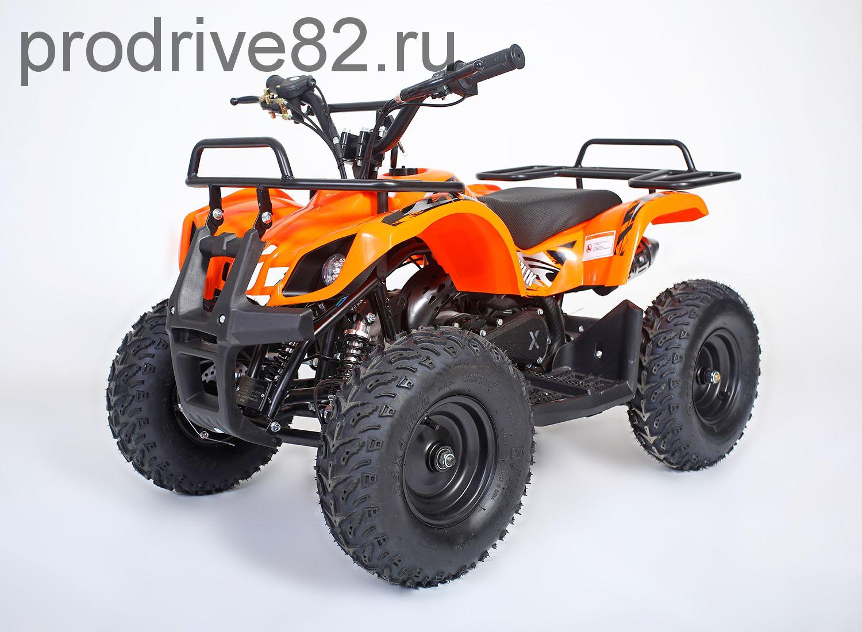 MOTAX Mini Grizlik X-16 BIG Wheel электростартер Квадроцикл бензиновый