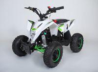 MOTAX Gekkon 70 сс Квадроцикл бензиновый бело-зеленый вид 1