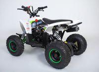 MOTAX Gekkon 70 сс Квадроцикл бензиновый бело-зеленый вид 3