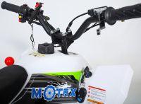 MOTAX Gekkon 70 сс Квадроцикл бензиновый бело-зеленый вид 7