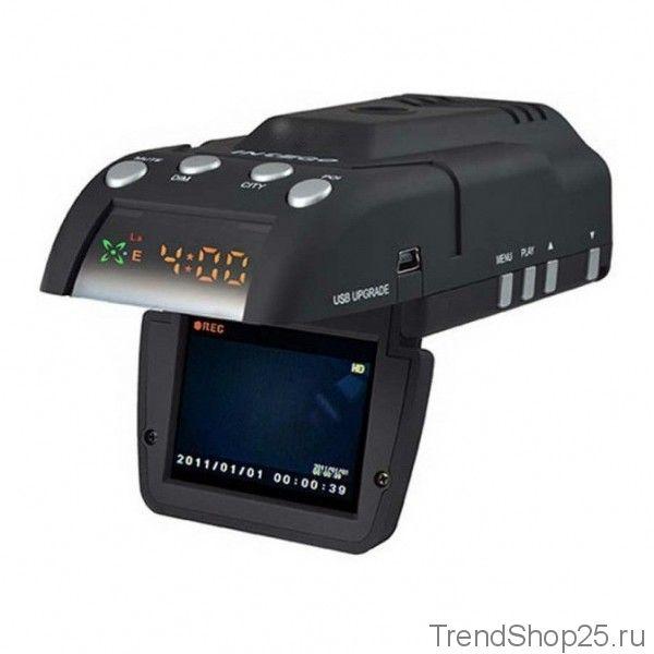 Автомобильный видеорегистратор с GPS и антирадаром XPX G530-STR