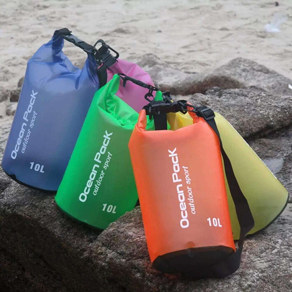 Водонепроницаемый мешок-рюкзак Ocean Pack Outdoor Sport, 10 л
