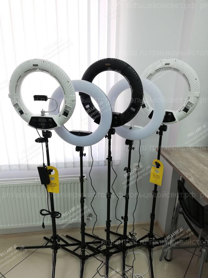 Кольцевая лампа PRO с регулировкой температуры света