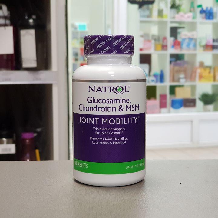 Natrol - Glucosamine-Chondroitin-MSM (90 таб)