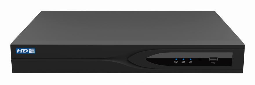 Модель 0349 (NVR-1602-01P8), 16 каналов, 2х8 ТВ, РоЕ