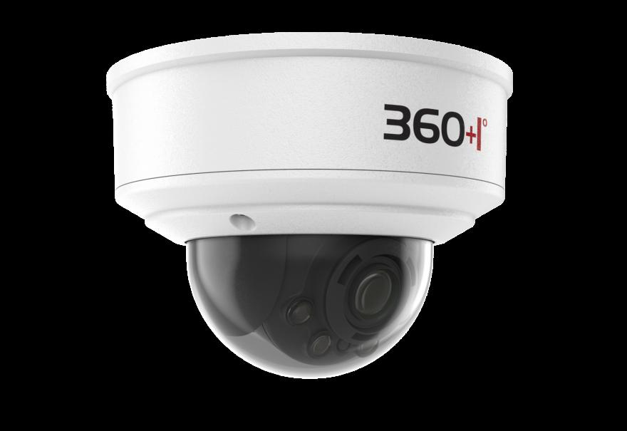 Модель TK-1080-GAAD, 2 Мп IP-камера, моторизованный 2.7-13.5 мм, купольная, PoE