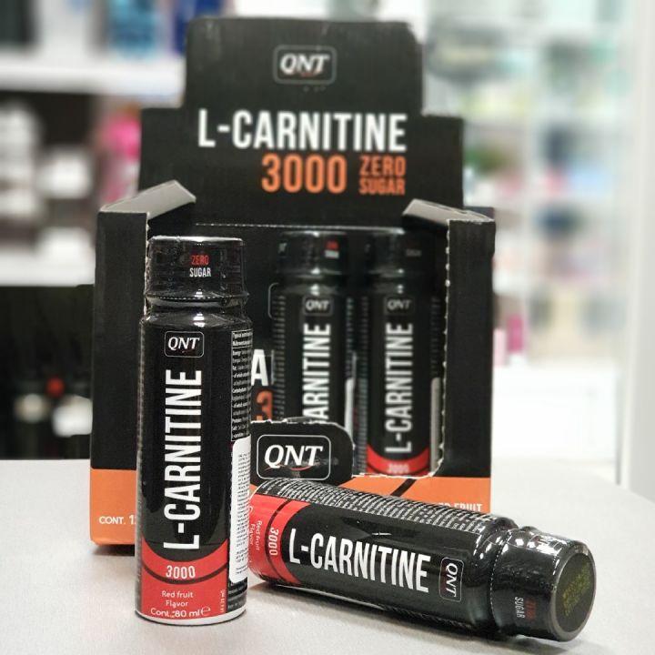 QNT - L-carnitine 3000 (1 шот)