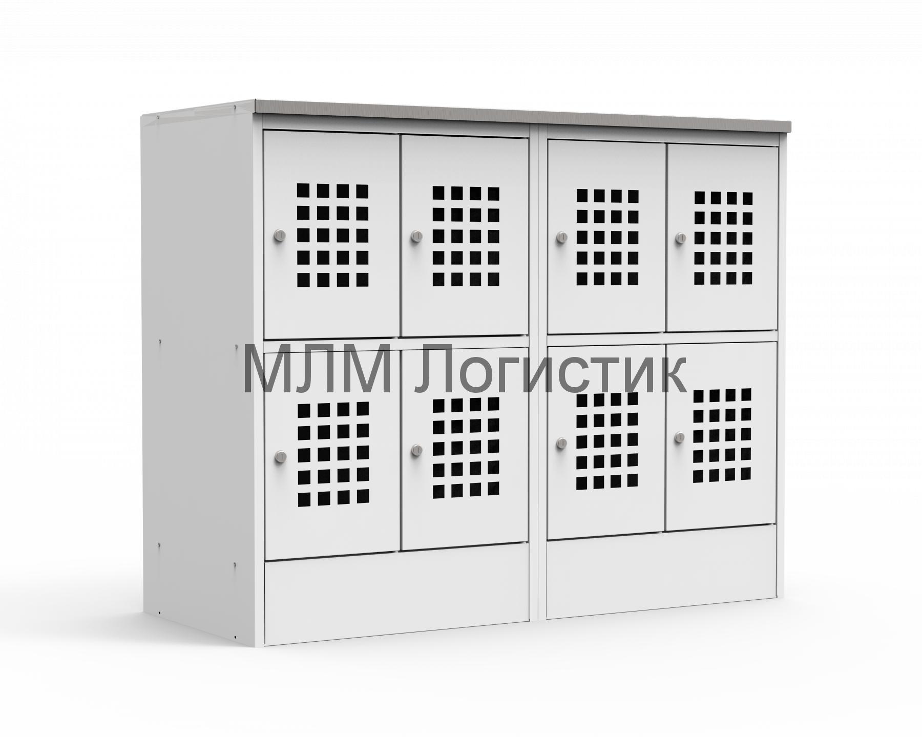 Металлический шкаф для сумок серии ШМ-С