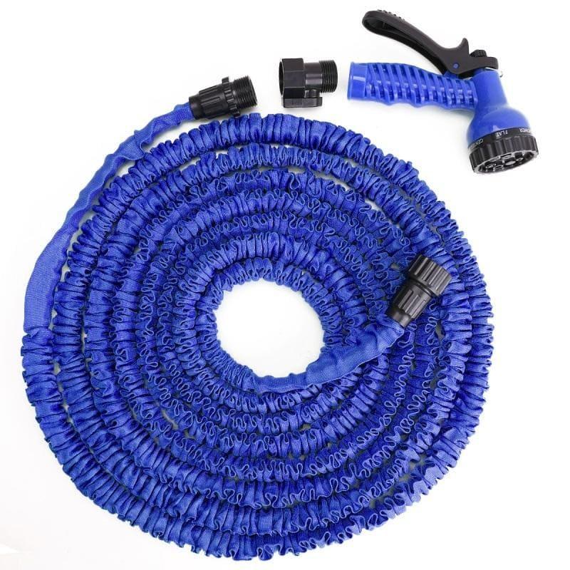 Поливочный шланг Xhose (Икс Хоуз) с распылителем, синий, 30 метров