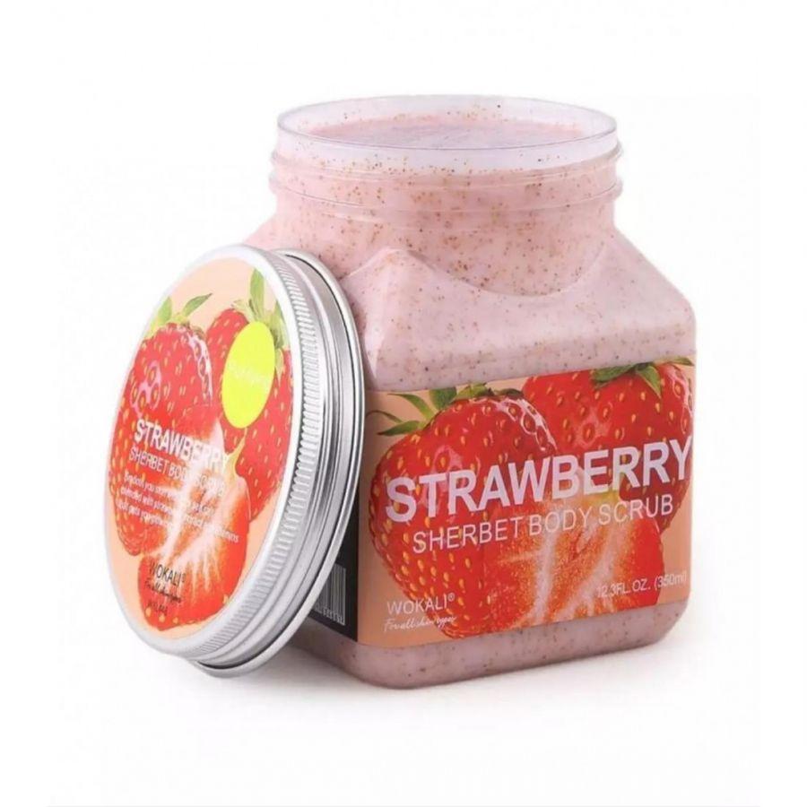 Скраб для тела Wokali strawberry