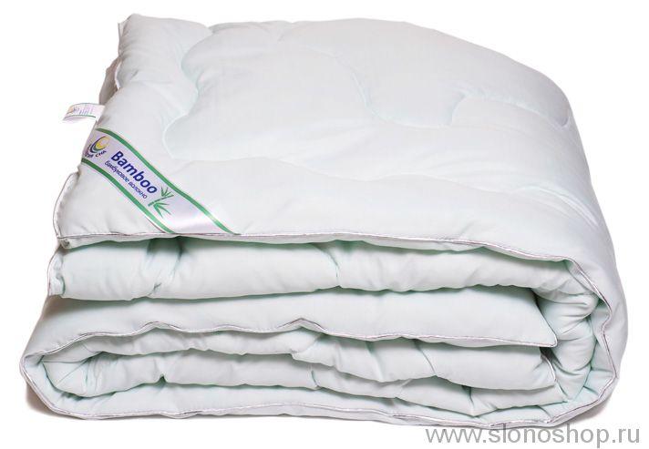 Одеяло МБ 172х205 (бамбуковое волокно, микрофибра, кант)