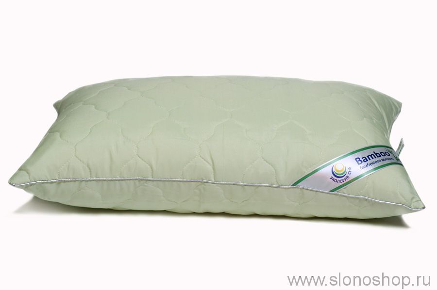 Подушка МБ 70х70 (микрофибра, стеганная с бамбуком, микроволокно п/э