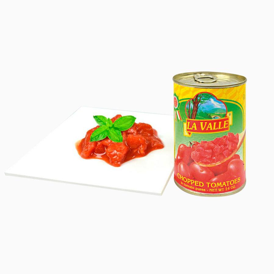 Томаты в собственном соку резаные итальянские - 400 гр - жесть