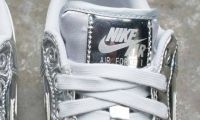 NIKE WOMEN AIR FORCE 1 SP SILVER