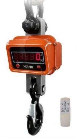 Крановые весы электронные ВЭК-10000, с поворотным крюком
