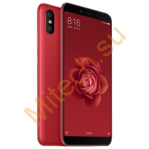 Смартфон Xiaomi mi 6x 4x64gb (Красный)
