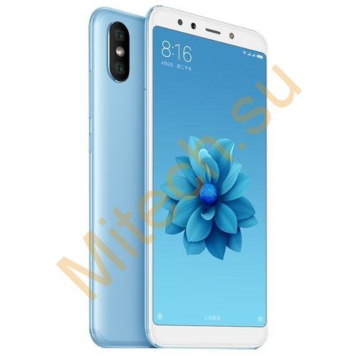 Смартфон Xiaomi mi 6x 4x64gb (Голубой)
