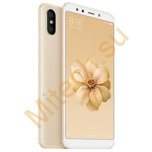 Смартфон Xiaomi mi 6x 4x64gb (Золотой)