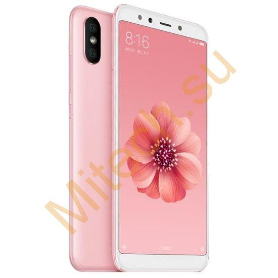 Смартфон Xiaomi mi 6x 4x64gb (Розовый)